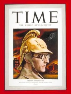 Shostakovich on the cover of Time magazine