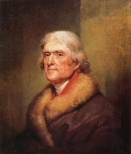 Jefferson - American philosopher and statesman