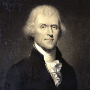 Jefferson - American president and statesman