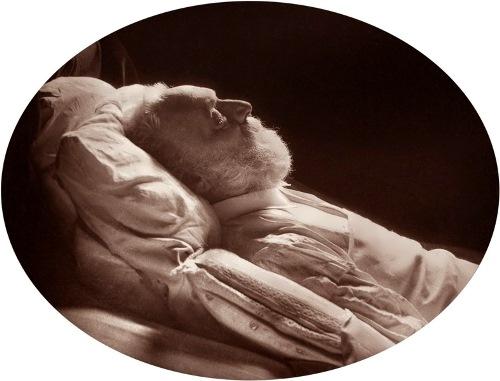 Victor Hugo on his deathbed