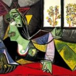 Picasso. Woman on couch. Dora Maar