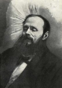Dostoevsky on his deathbed