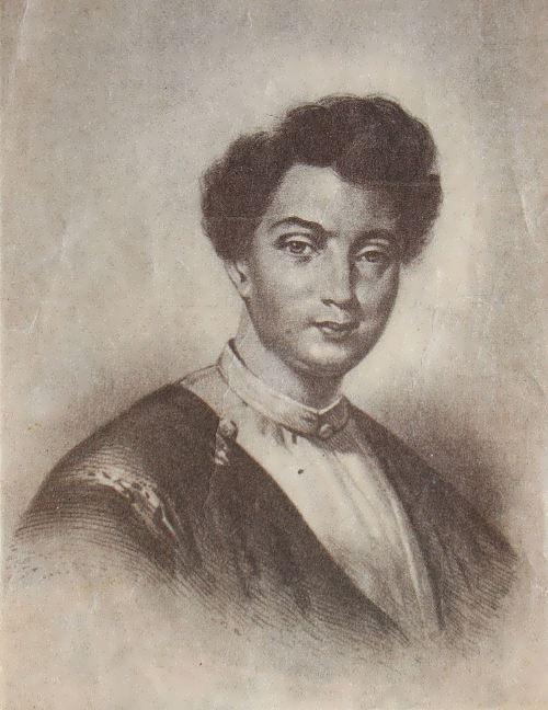 Alexandre Dumas in 1842 by Eugene Giraud
