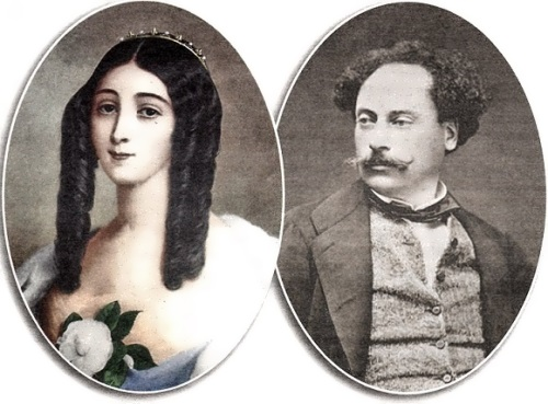 Alexandre Dumas fils and Marie Duplessis