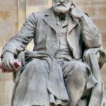 Monument to Victor Hugo in Paris