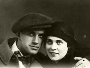 Lilya Brik and Mayakovsky