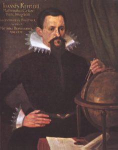 Kepler - German mathematician and astronomer