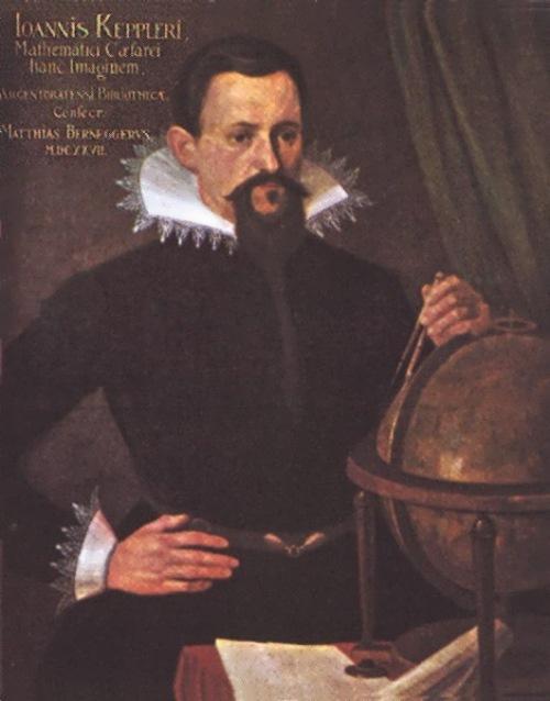 Kepler - German mathematician and astronomer