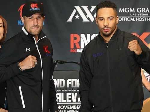 Andre Ward and Sergey Kovalev