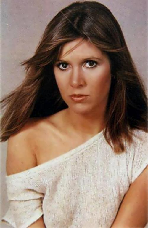 Carrie Fisher – actress and novelist