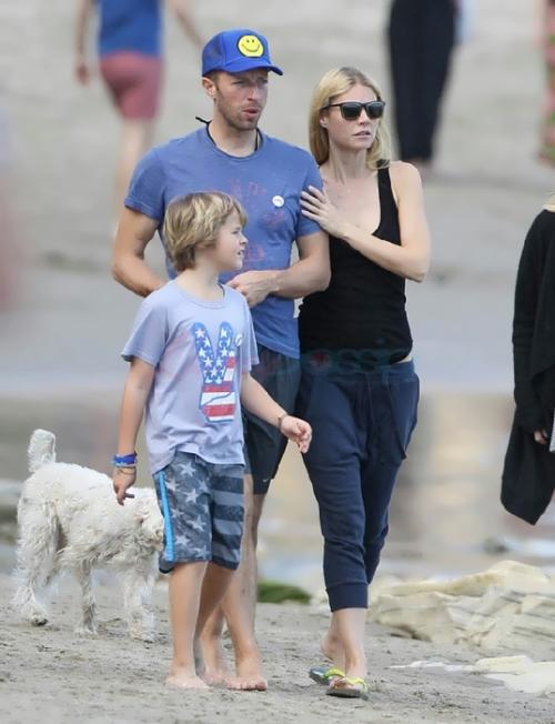 Martin, Gwyneth Paltrow and their son