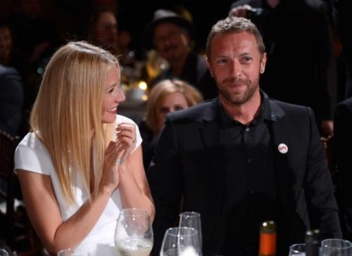 Martin and Gwyneth Paltrow