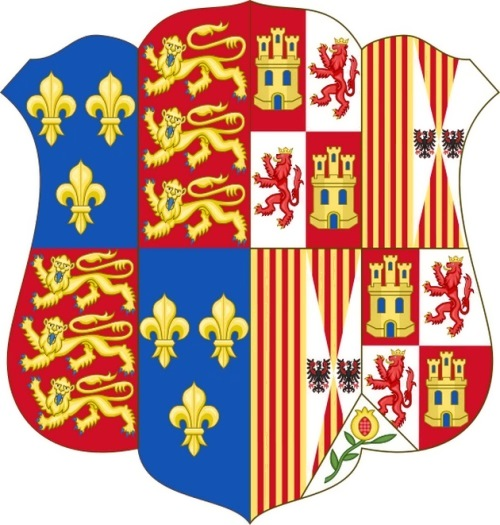 Coat of Arms of Queen Catherine of Aragon
