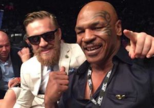 McGregor and Mike Tyson