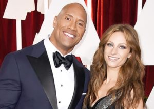 Dwayne and his girlfriend Lauren Hashian
