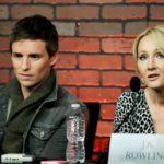 Eddie and J.K. Rowling