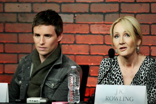 Eddie and J.K. Rowling