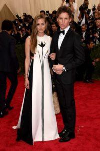 Eddie Redmayne and his wife Hannah