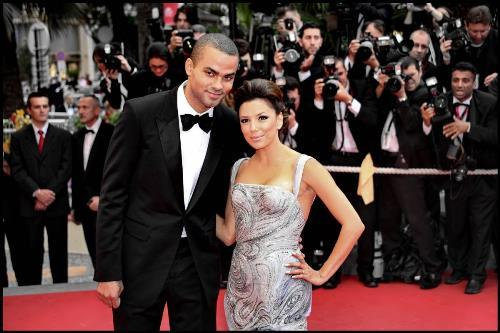 Eva Longoria and Tony Parker