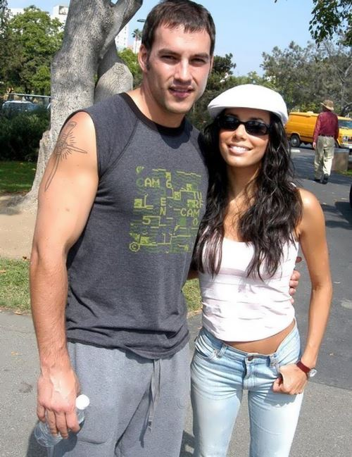 Eva Longoria and Tyler Christopher