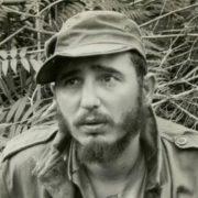 Fidel Castro in 1957
