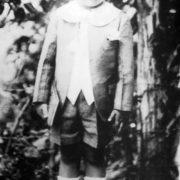 Fidel Castro in his childhood
