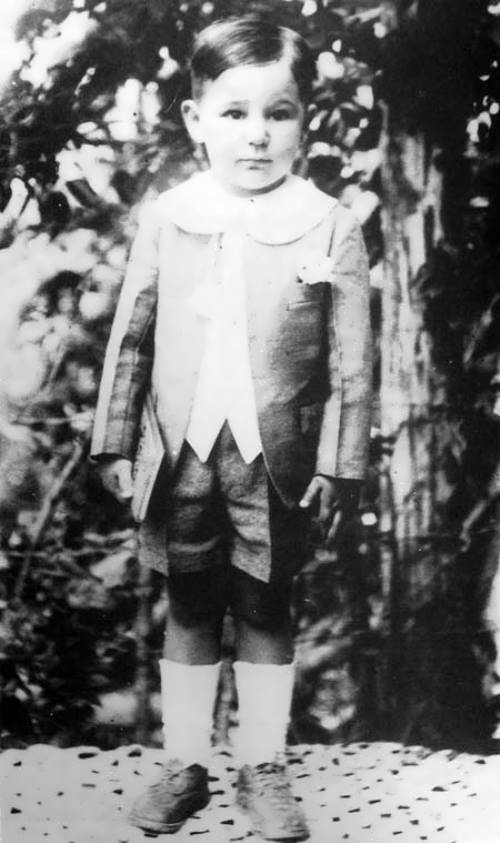 Fidel Castro in his childhood