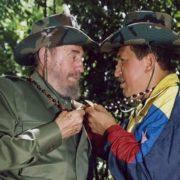 Fidel and President Hugo Chavez