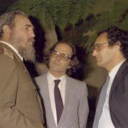 Fidel and Adolfo Perez Esquivel