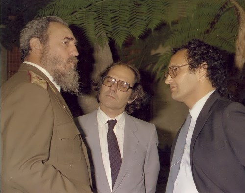 Fidel and Adolfo Perez Esquivel