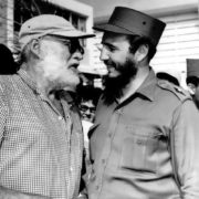 Fidel and Ernest Hemingway in Cuba