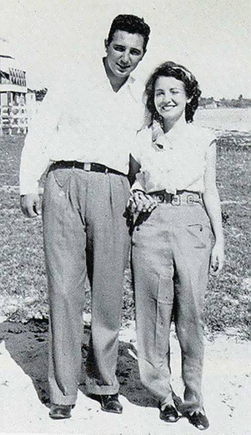 Fidel and Mirta Diaz Balart