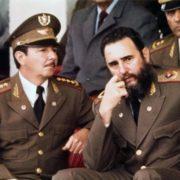 Fidel and Raul Castro in 1977