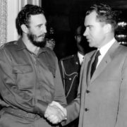 Fidel and Richard Nixon