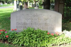 Grave of Banting