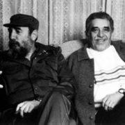 Gabriel Garcia Marquez and Fidel Castro