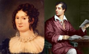 Claire Godwin and Lord Byron