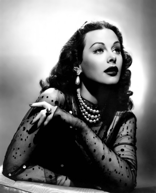 Hedy Lamarr - ecstasy girl