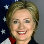 Hillary Clinton – American female politician