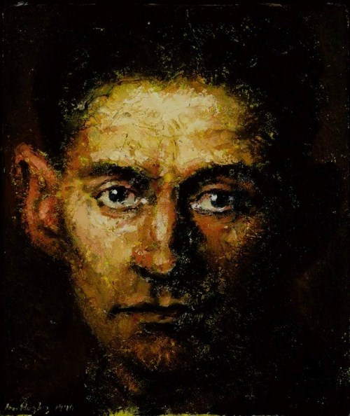 Portrait of Kafka by Ian Hughes