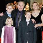 Andrew Lloyd Webber and his family