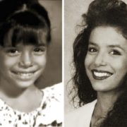 Eva Longoria in her childhood