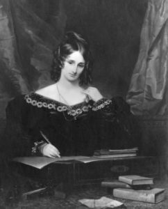 Mary Shelley – creator of Frankenstein