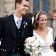 Murray and his wife Kim Sears