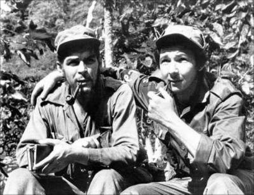 Raul and Fidel Castro