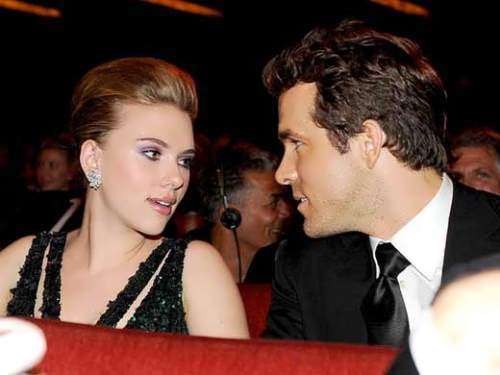Reynolds and Scarlett Johansson