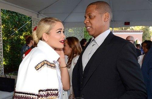 Rita and Jay-Z