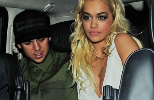 Rita and Rob Kardashian