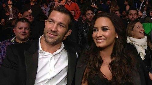 Rockhold and Demi Lovato