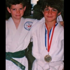 Rockhold in his childhood